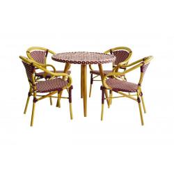 """Набор мебели """"Ницца"""" бордо"""