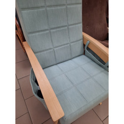 Кресло-качалка Нордик (Натур.дерево, Melva70)